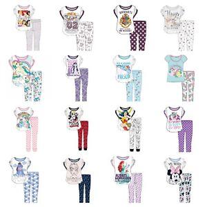 Officiel-Ladies-Womans-Doux-Disney-Long-Pyjamas-Filles-Pyjama-Tailles-8-22
