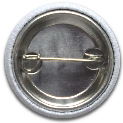 Size is 1inch//25mm diameter 4 x GEEK BADGE BUTTON PINS SCHOOL DISCO NERD