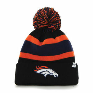 ab9129f7a Image is loading Denver-Broncos-039-47-Brand-Breakaway-Cuff-Knit-