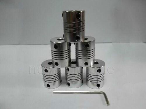 4mm To 5mm Aluminum Shaft Coupling Flexible Coupler Motor connector D19L25