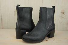 27aa0c21957 UGG Camden Exotic Black Size 12 Stacked Women's Heel BOOTS Half Hair ...