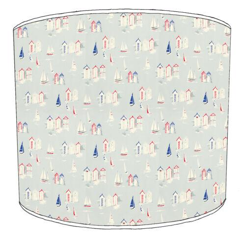 Lampshades Ideal To Match Nautical Beach Huts Duvets /& Beach Huts Wallpaper.