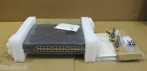 New-Dell-Powerconnect-2324-24-Port-Ethernet-2-Gigabit-Ethernet-Switch-TJ899