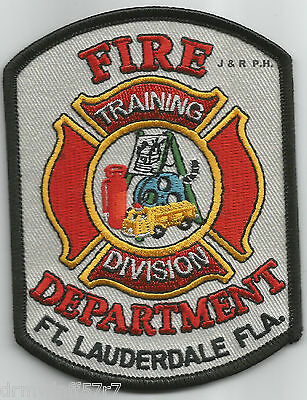 "fire patch Fort Lauderdale  Sta-29 3.5/"" x 4/"" size FL  /""Federal Express/"""