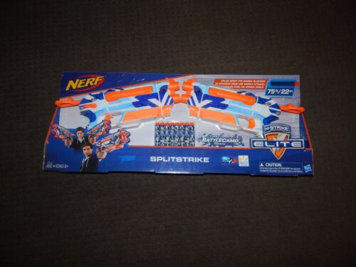 New NERF Elite SPLITSTRIKE Dart BLASTER SPLIT STRIKE Camo 2 Pack USA Version