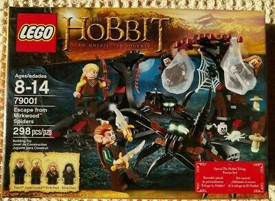Escape from Mirkwood Spiders *RETIRED The Hobbit NIB* LEGO set 79001