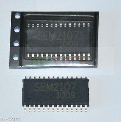 2pcs 5EM2107 SEM2I07 SEM21O7 SEM2IO7 SEM2107 SOP28 IC Chip