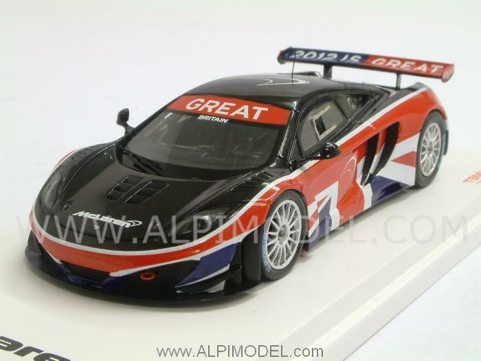 McLaren MP4 12C GT3 Goodwood Festival of Speed 2012 1 43 TRUESCALE TSM134325