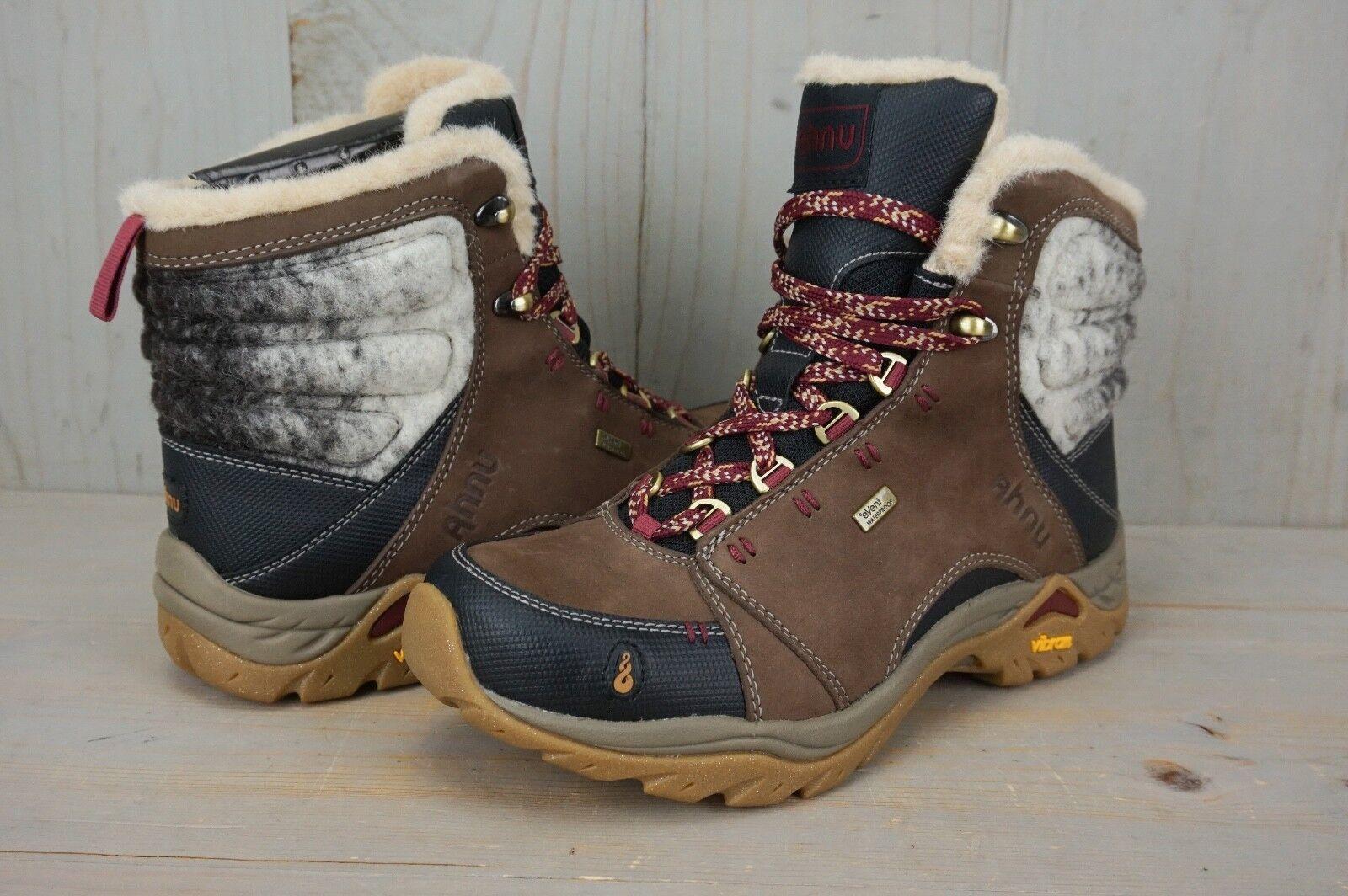 Ahnu montara Luxe WP botas para excursionismo a prueba de agua nos para Mujer del estiércol 6 Nuevo