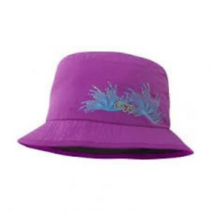 NEW-Outdoor-Research-Solstice-Kid-039-s-Sun-UV-Bucket-Hat-Purple-Age-3-6-yrs