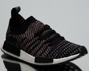 81f3859f377678 adidas Originals NMD R1 Primeknit Stealth Pack Men New Black Pink ...