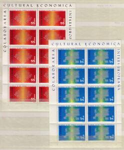 CEPT-Mi-1919-1920-RUMANIEN-2x-Kleinbogen-MNH-MW-20-JKC-198-3
