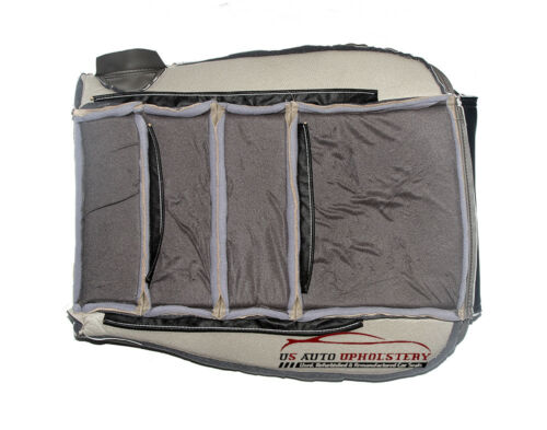 2003 Ford Excursion EDDIE BAUER Driver Side Bottom Leather Seat Cover 2-TONE
