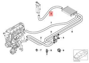 Details about Genuine BMW E46 Coupe Sedan Wagon Expansion Tank Hose OEM  64216901568