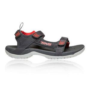 Teva-Tanza-Mens-Black-Outdoors-Walking-Hiking-Sandals-Shoes