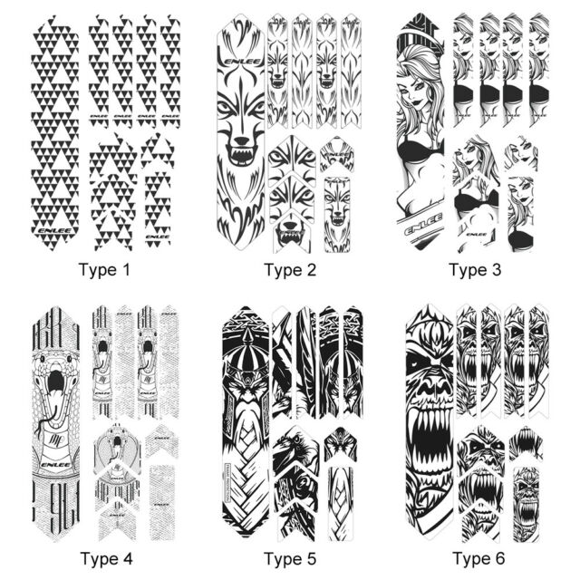 100cmBike Cycling Bicycle Frame Anti-Scratch Protective Clear Protector Stickers
