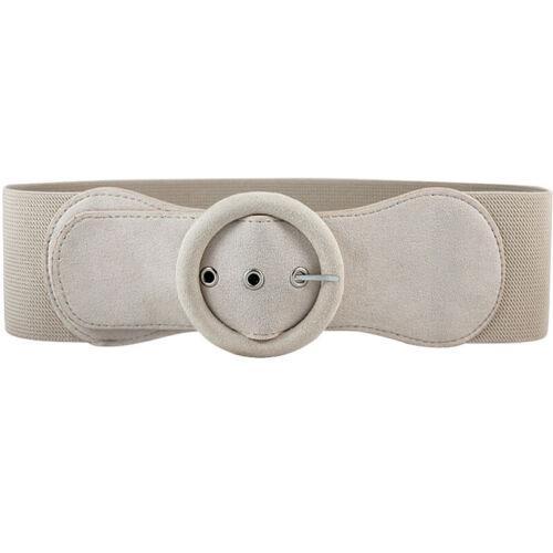 Women/'s Fashion Belt Wide Pin Buckle Good Matching Dress Girdle Soft Waistband