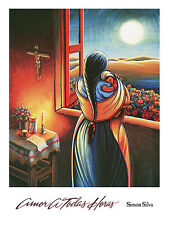Amor a Todas Horas  by Simon Silva Art Print Poster 24x32