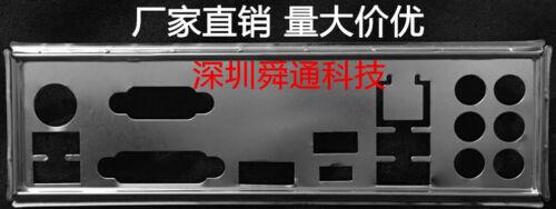 Hot IO I//O Shield Back Plate BackPlate Blende Bracket for MSI B350 TOMAHAWK