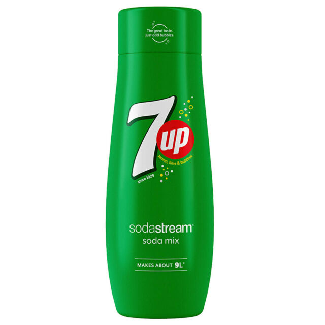 Sodastream 440ml 7 Up Flavour Soda/Sparkling Water/Drink Syrup/Mix Makes 9L