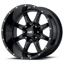 17 Inch All Black Wheels Rims Ford Truck F250 F350 8x65 Lug Moto Metal Mo970 4