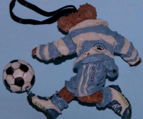 Boyds Bears ornament C sports #25756 Striker soccer bear