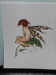 Amy Brown - Faery V - OUT OF PRINT - VERY RARE