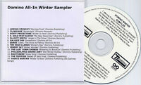 Domino All-In Winter Sampler promo only publishing CD Vashti Bunyan Galaxie 500