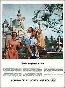 1957-Disneyland-Sleeping-Beauty-Castle-INA-insurance-vintage-photo-print-ad-L19