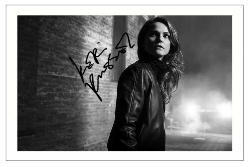 KERI RUSSELL THE AMERICANS AUTOGRAPH SIGNED PHOTO PRINT