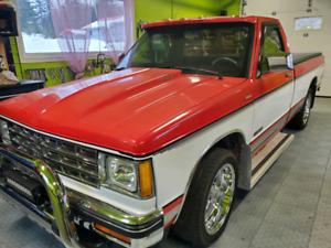 1982 chevy s10 restored.