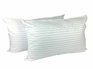 Jumbo-Striped-Pillows-Hotel-Quality-Pillows-Extra-Large-Pack-2-amp-4-Deluxe-Pillow
