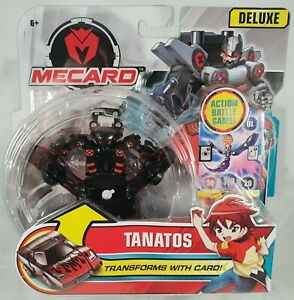 e72bcef9c51 Image is loading Mattel-Deluxe-Mecard-Mecardimal-Figure -Transforms-with-Card-