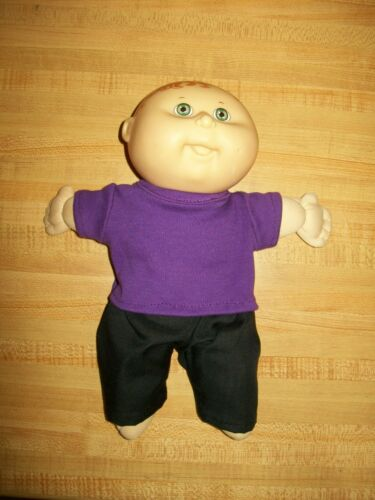 """TEE SHIRT+PANTS -YOUR CHOICE OF COLORS--EMAIL ME fits 10-11/"""" CPK Cabbage Patch"""