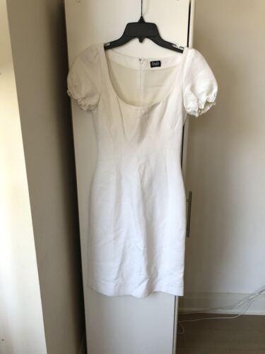Authentic Dolce & Gabbana Cap Sleeve Sheath Dress