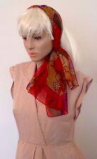 Vintage 1980s Picasso Cubist Ladies Head scarf