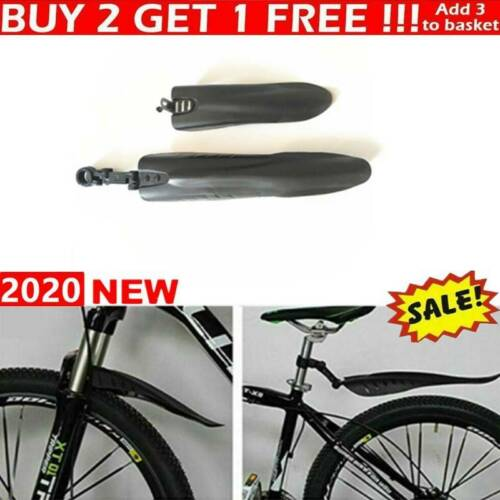 Mountain Bike Bicycle Cycling Tire Front Rear Mud Guards Set Mudguard Fenders UK