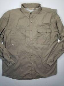 Long Sleeve Shirt Sz L Olive Green