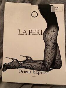 nero Express Collant rete colletto Xl Perla Orient con Iv La pacchetto Nuovo Collant a qwxItXt