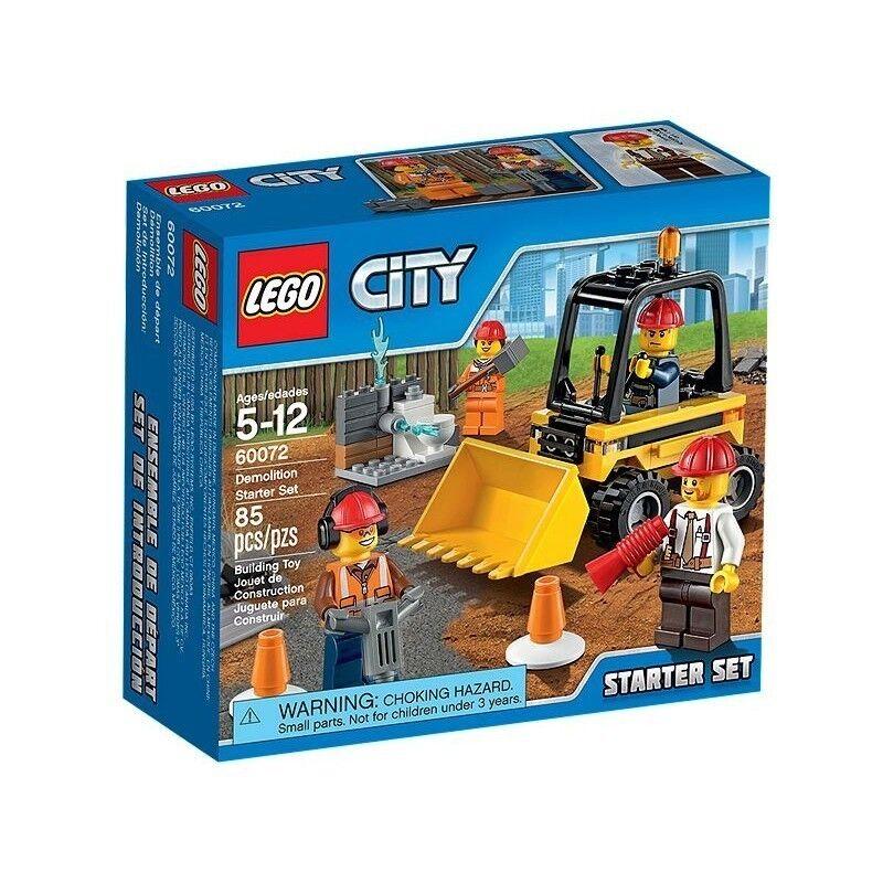 Lego 60072 - Set de Introducción  Demolición Demolición Demolición - NUEVO 91a3a0