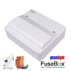 Fine Fusebox 8 Way 100A Mains Surge Protected Consumer Unit 6 Rcbos Wiring 101 Kniepimsautoservicenl