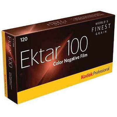 5 Rolls Kodak 120 Ektar 100 Color Negative Film FRESH FILM 7/2019