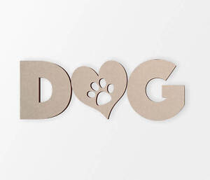 Wooden shape DOG Lovers Decor, Wooden Cut Out, Wall Art, Home Decor,Wall Hanging