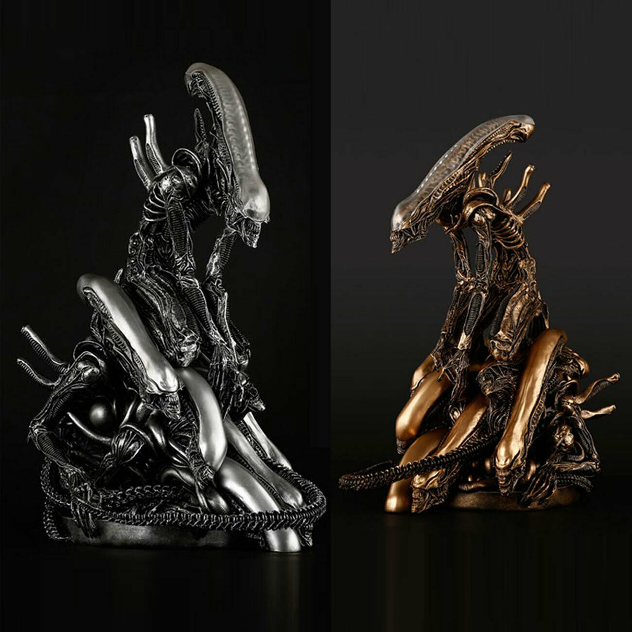 venta con alto descuento Takeya Takeya Takeya Takayuki Resina Estatua Escultura Alien 13.8  Figura Colección Modelo Nuevo  mejor opcion