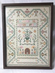 Message, matchless))), Vintage cross stitch samplers can