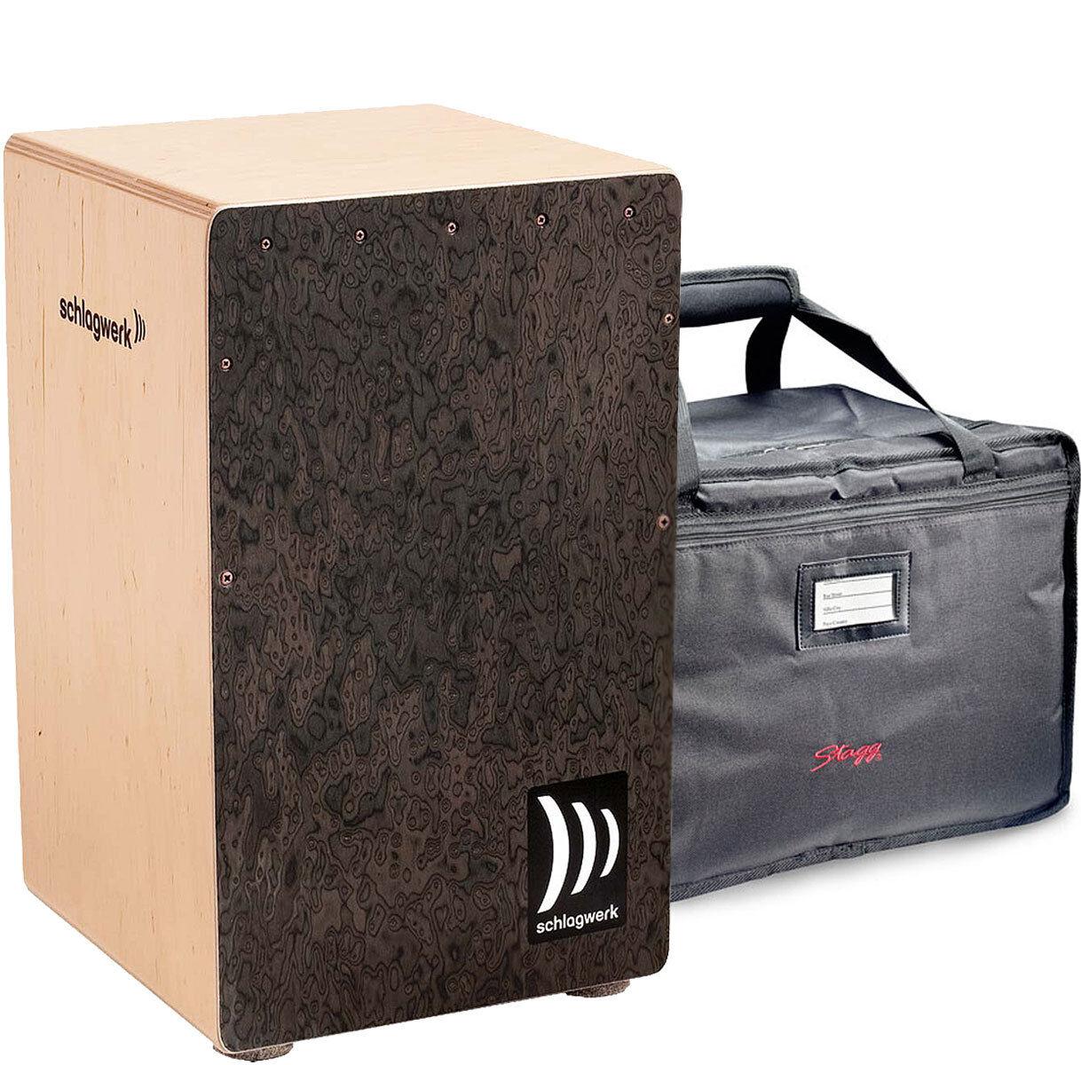 Schlagwerk CP4007 Cajon la Peru Wurzel + Deluxe Bag