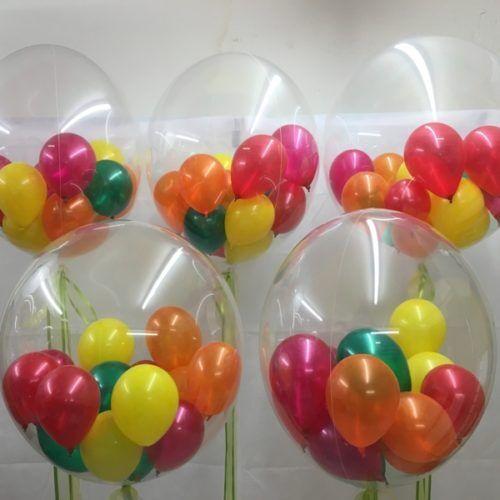1-100 Latex Plain Clear Transparent Helium Balloons Party Birthday Wedding