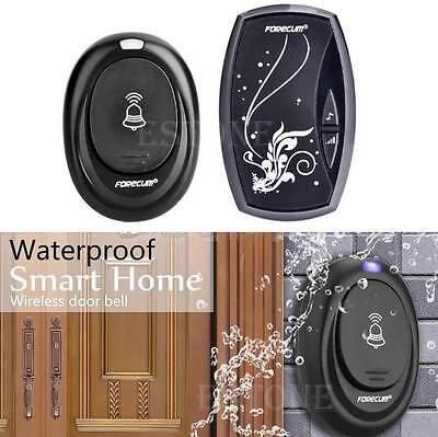 New Wireless 100M Range Remote Control Waterproof Intelligent Doorbell 36 Songs
