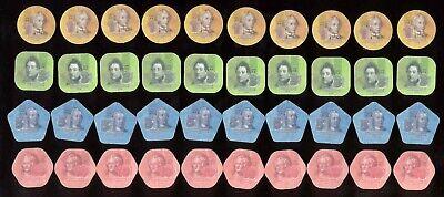 Transnistria Pridnestrovie PMR 2014 Composite Plastic Coins 1 3 5 10 Roubles UNC