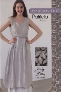 PATTERN-Patricia-women-039-s-sewing-PATTERN-from-Tina-Givens